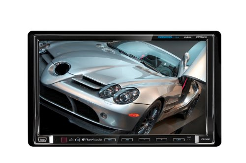 Planet Audio P9752B In-Dash Double-Din 7-Inch Motorized Touchscreen Dvd/Cd/Sd/Mp4/Mp3 Player Receiver Bluetooth Streaming Bluetooth Hands-Free With Remote