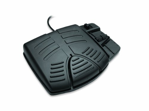 MinnKota Powerdrive V2 Corded Foot Pedal Accessory (Black)
