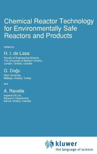 Chemical Reactor Technology for Environmentally Safe Reactors and Products (NATO Science Series E: (closed))