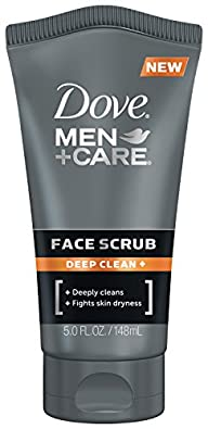 Dove Men+Care Face Scrub, Deep Clean+…