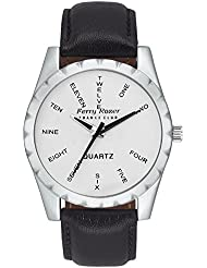 Ferry Rozer White Dial Analog Watch For Men & Boys - FR1059