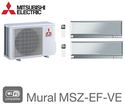 Mitsubishi Bi-split Mural Inverter Design MXZ-3E68VA + 1 x MSZ-EF22VE3S + 1 MSZ-EF42VE2S