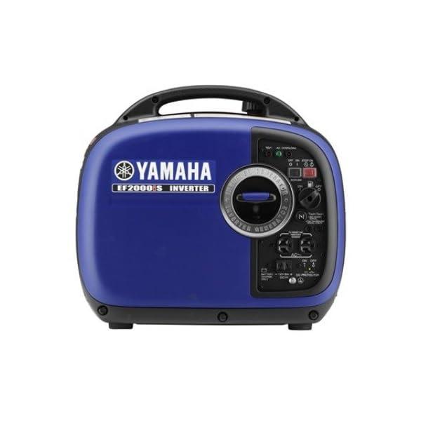 Yamaha EF2000iS, 1600 Running Watts/2000 Starting Watts