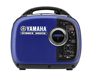 Yamaha EF2000iS 2,000 Watt 79cc OHV 4-Stroke Gas Powered Portable Inverter Generator, CARB Compliant, Blue