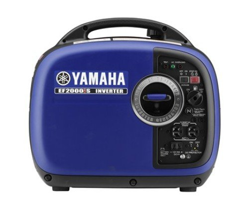 Yamaha EF2000iS 2,000 Watt 79cc OHV 4-Stroke Gas Powered Portable Inverter Generator, CARB Compliant, Blue