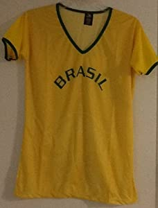 Buy Brazil Women Soccer Jersey Size Large by DRAKO INC
