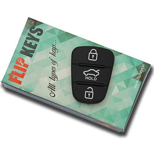 1-Key Replacement Keypad For Hyundai I-20 (2008-11 Model)