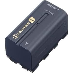Sony NPF770 L Series InfoLithium Battery for DCRVX2100, HDRFX1, HDRFX7, HD1000U & HVRZ1U - Retail Packaging