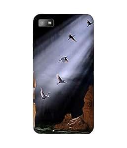 Fly Me Away BlackBerry Z10 Case