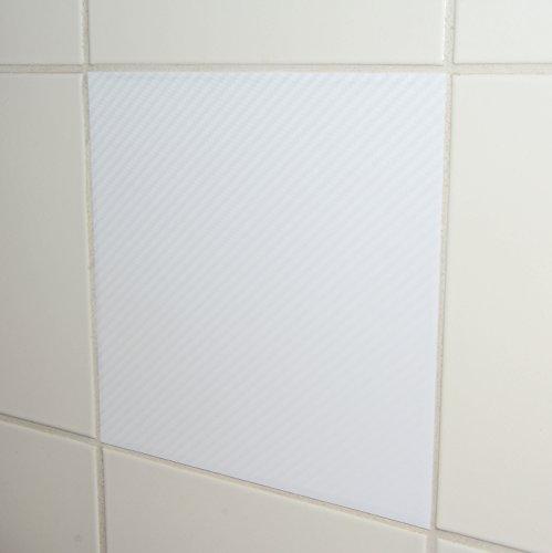 50-pezzi-carbon-look-adesivi-per-piastrelle-15x15cm-bianco