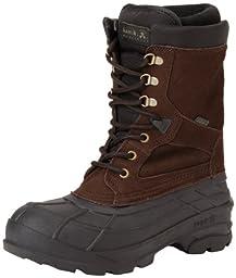 Kamik Men\'s Nationplus Snow Boot,Dark Brown,12 M US