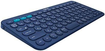 Logicool ロジクール K380 Bluetooth マルチデバイス キーボード (マルチOS: Windows, Mac, iOS, Android, Chrome OS 対応) ブルー K380BL