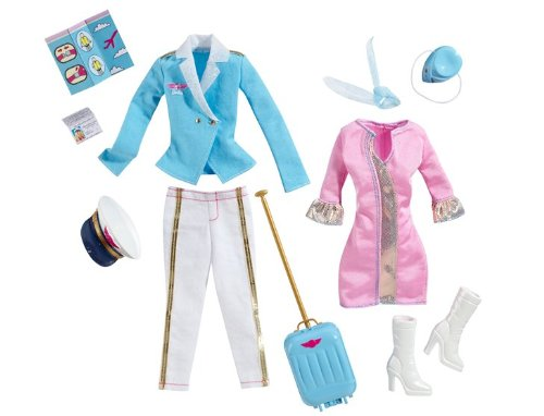 Barbie I Can Be Flight Fashion Pack