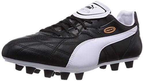 Puma Esito Classico FG, Calcio scarpe da allenamento uomo, Nero (Schwarz (black-white-bronze 01)), 41