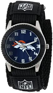 Game Time Mid-Size NFL-ROB-DEN Rookie Denver Broncos Rookie Black Series Watch