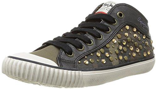 Pepe Jeans Industry, Damen Sneaker, Grün (Vert (765Khaki)), 41 EU