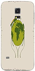 Snoogg Human Hand Holding Earth For Save The Earth Concept Designer Protectiv...