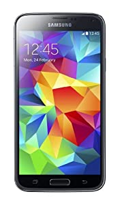 Samsung Galaxy S5 G900F Sim Free European Version Smartphone Factory Unlocked (BLACK)
