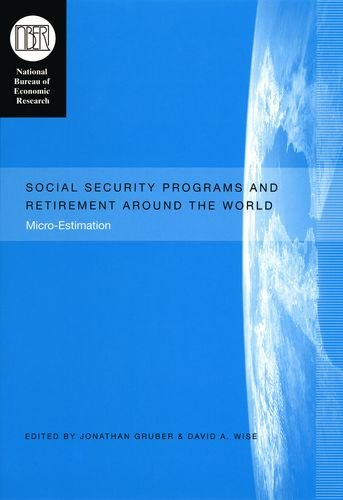 Social Security Programs And Retirement Around The World: Micro-Estimation (National Bureau Of Economic Research Conference Report)