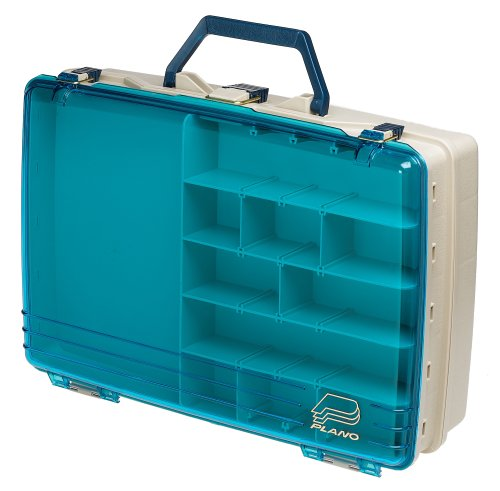 Plano two level satchel tackle box outdoor stuffs for Plano fishing box