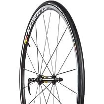 Mavic Aksium Wheels- Clincher Black, Pair/Shimano