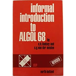 Cover of Informal Introduction to Algol 68