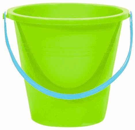 Small Round Pail Blue