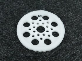 3Racing #3R/3Rac-Sg64125 64 Pitch Spur Gear 125T For Most Rc Cars
