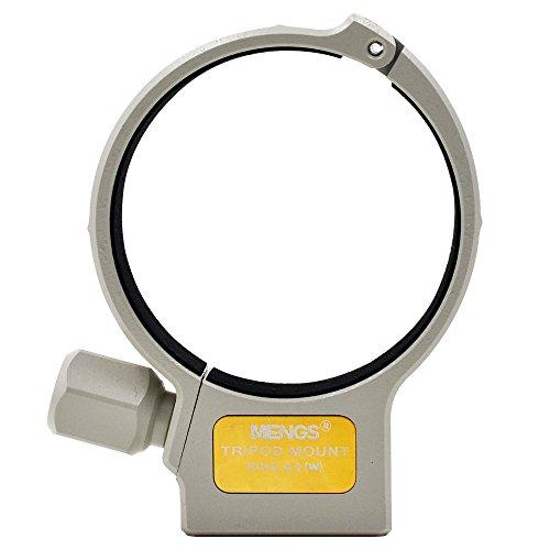 MENGS® A II (W) Collier Fixation Trépied compatible pour Canon EF 70-200mm f/4L, EF 70-200mm f/4L IS