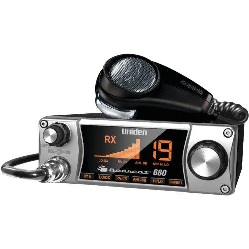 Uniden Bearcat 680 CB Radio with Ergonomic Pistol Grip Mic primary
