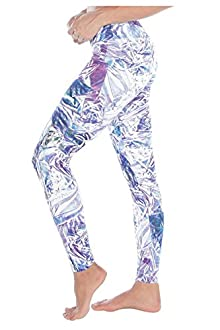 WITH Women's Leggings Crystal Foil