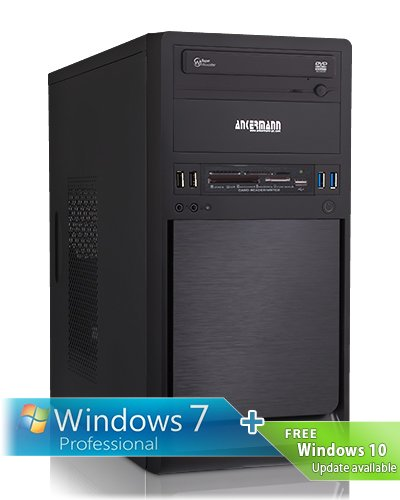 Ankermann-PC Coolboy, Intel Core i5-4460 4x 3.20GHz, ASUS GeForce GT 610 2048 MB, 4 GB DDR3 RAM, 500 GB Disco, Windows 7 Professional 64 Bit, Card Reader, EAN 4260219655446