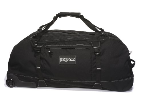 "JanSport Reisetasche Mit Rollen 30"", black, 38x76x34, 92 liters, TOC7"