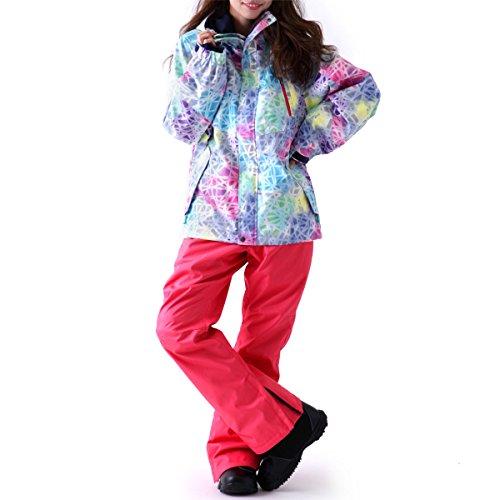 IA-SET IA-04 09号サイズ ICEPARDAL(アイスパーダル) スノーボード ウェア 上下セット レディース スノボ ウェア スキー ウェア ウエア 女性用 おしゃれ かわいい 15-16新作