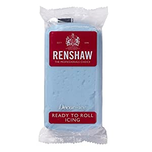 Renshaw Ready to Roll Icing 250g - Baby Blue
