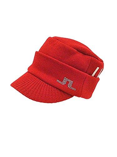 J.リンドバーグ / J.LINDEBERG (2014秋冬モデル!) ドゴールニットキャップ(メンズ)ジェイ リンドバーグ/ゴルフウェア (フリー, 063/レッド)