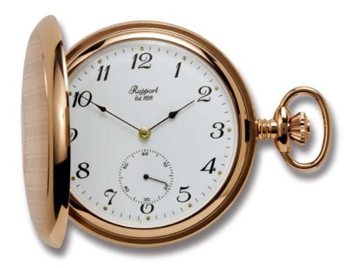 Rapport of London Rose Gold Hunting Case Pocket Watch