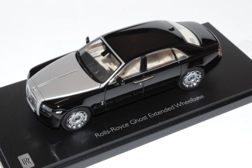 Rolls Royce Ghost 2011 Schwarz 1/43 Kyosho Modell Auto