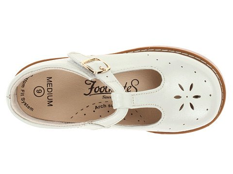 Footmates Sherry 2 Flat (Toddler/Little Kid),Pearl,8.5 Toddler Us front-748758