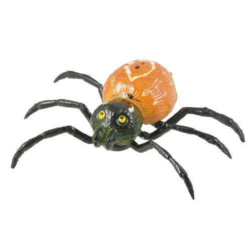 Kühlschrank Kühlschrank Ornament Spinne Form Magnetic Aufkleber Orange Schwarz