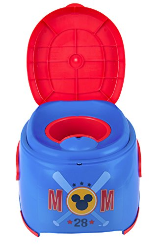 Mickey Mouse 3-in-1 Potty Trainer - Rewards Stickers Included