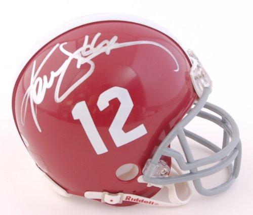 Ken Stabler Signed Mini Helmet - Autographed College Mini Helmets