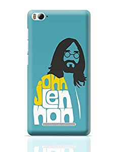 PosterGuy John Lennon Typography | Beatles Pop Art Xiaomi Mi 4i Cover