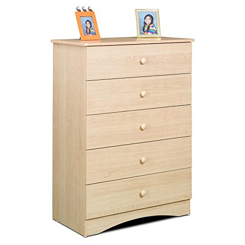 Natural Wood Chest Of Drawers