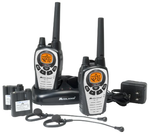 Midland GXT760VP4 36-Mile 42-Channel FRS/GMRS Two-Way Radio (Pair)