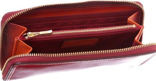 [タケオキクチ] TAKEO KIKUCHI テス 長財布 ラウンドファスナー 174616 RED (アカ)
