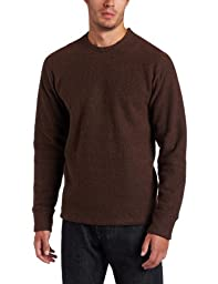 prAna Men\'s Sherpa Crew Tee, Brown, Small