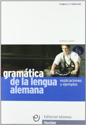 GRAMATICA DE LA LENGUA ALEMANA