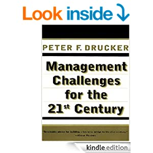 management challenges for the 21st century drucker