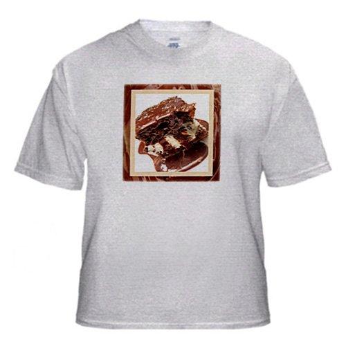 Hot Fudge Sundae Cake - Youth Birch-Gray-T-Shirt Large(14-16)